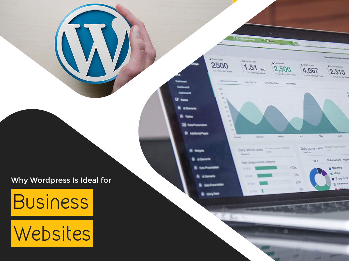 WHY WORDPRESS IS IDEAL FOR BUSINESS WEBSITES
