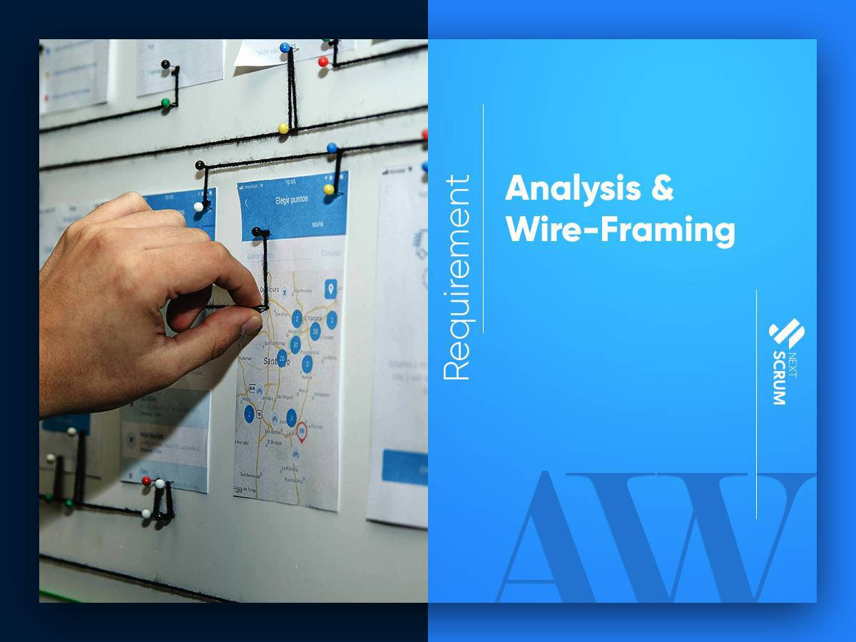 Requirement Analysis and Wireframing
