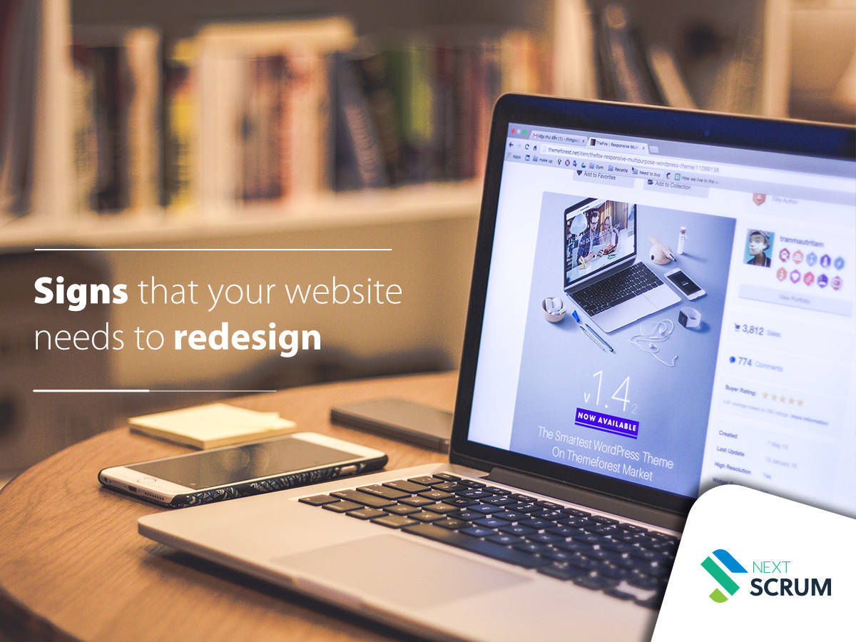 Signs That Your Website Needs A Redesign